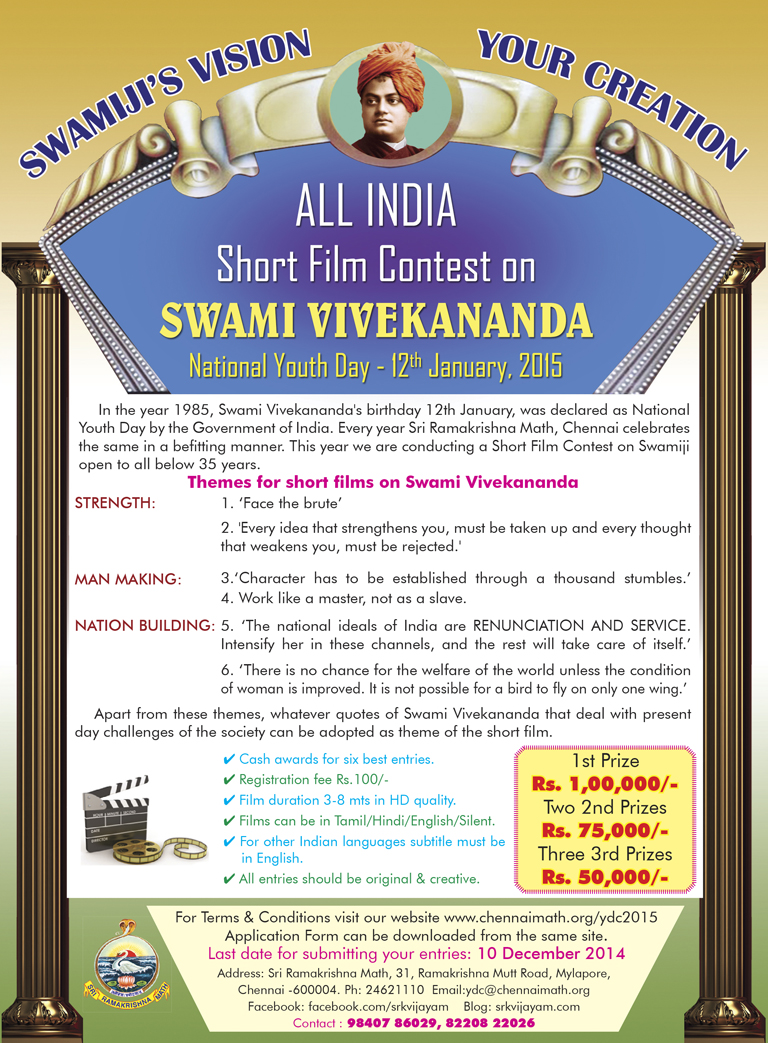 Short film contest.indd