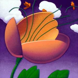 birds-and-budding-flower
